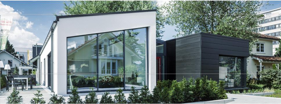 Luxhaus Fellbach energiesparhaus mit smarthome technik referenz sys tec